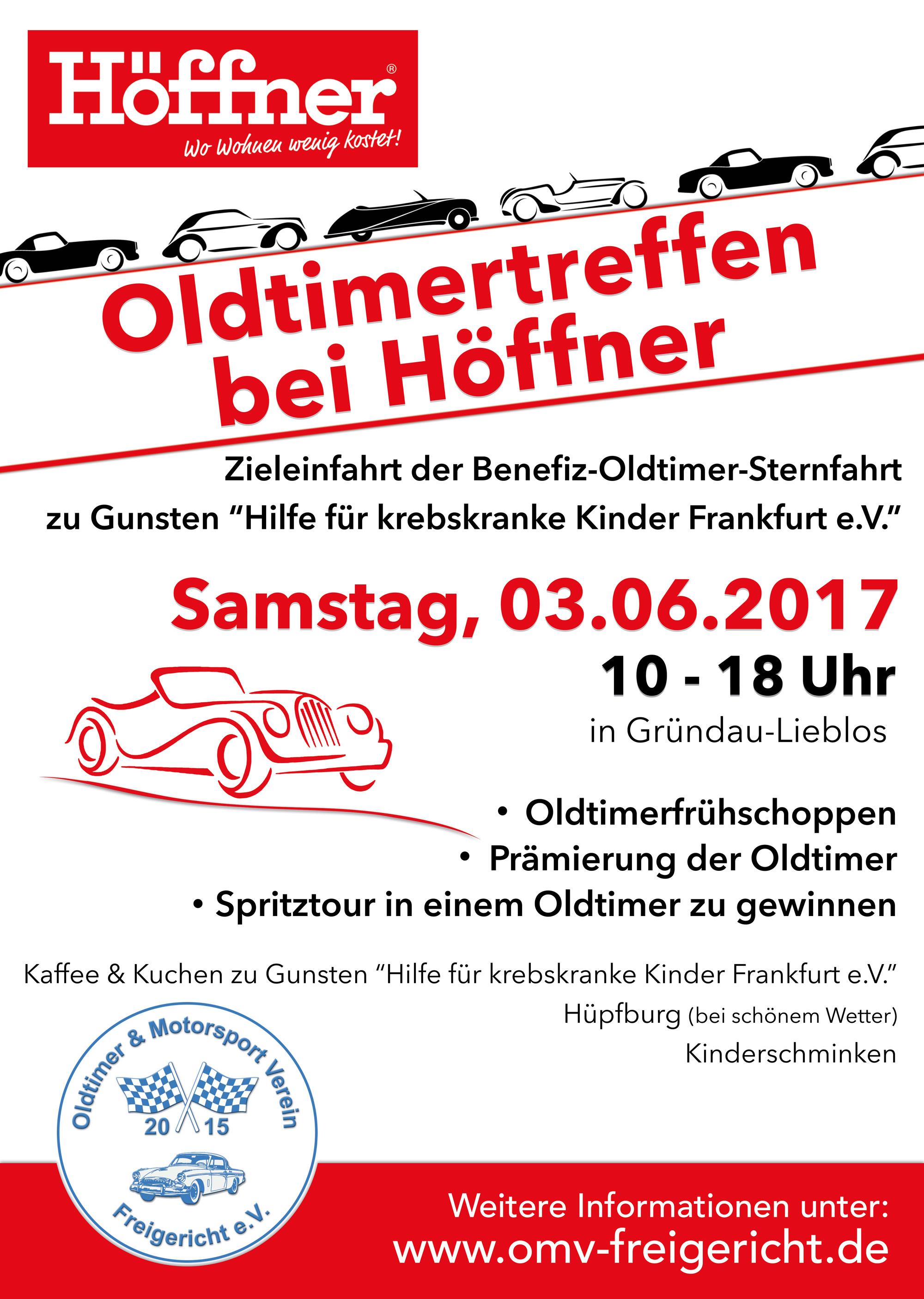 6ac0b41143ff8f Oldtimertreffen mit Frühschoppen bei Möbel-Höffner - Oldtimer ...