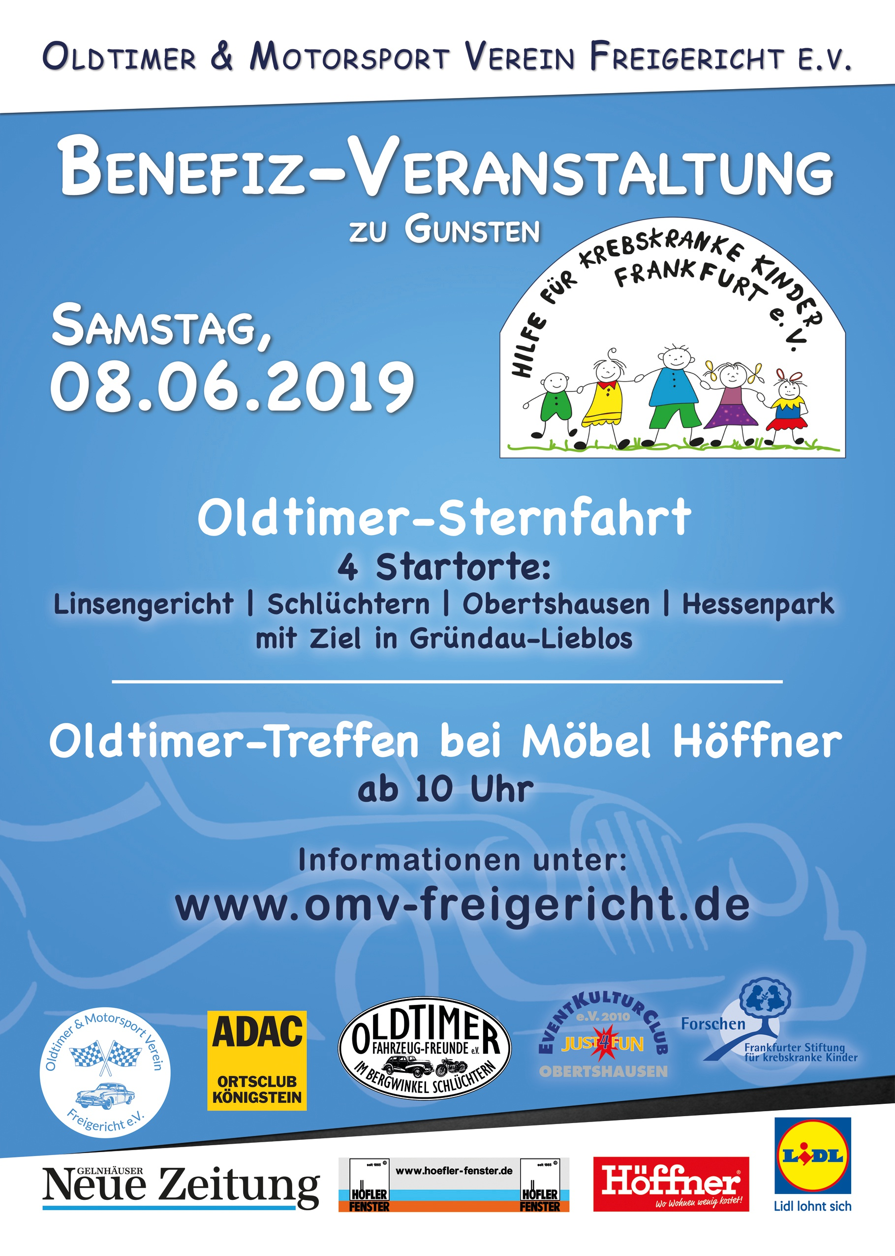 Flyer Benefizfahrt